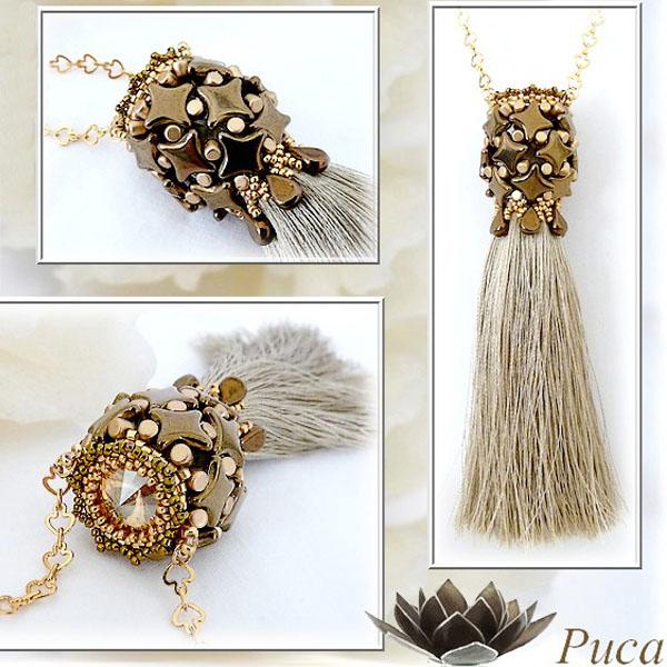 Nuova stili di moda catturare Collana di nappe fai da te con perle Star, perle Amos ...