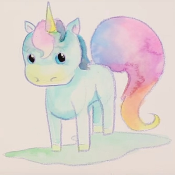 Come Disegnare Un Unicorno Perles Co