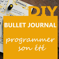 Tuto bullet journal - Come programmare la tua estate 2018