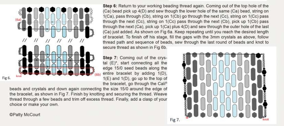 / Tutorial polso-Cali-beads-ematite-Miyuki-delica-NOTES-IT-02