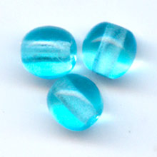 Perle tonde mm. 4 Light Aquamarine x50