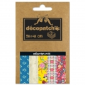 Carta Decopatch Pocket 30x40 cm - collezione n°13 x5