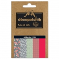 Carta Decopatch Pocket 30x40 cm - collezione n°12 x5