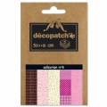 Carta Decopatch Pocket 30x40 cm - collezione n°03 x5