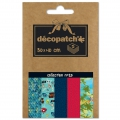 Carta Decopatch Pocket 30x40 cm - collezione n°20 x5