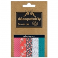 Carta Decopatch Pocket 30x40 cm - collezione n°02 x5