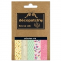 Carta Decopatch Pocket 30x40 cm - collezione n°18 x5