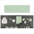 Carta Decopatch Pocket 30x40 cm - collezione n°17 x5