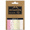 Carta Decopatch Pocket 30x40 cm - collezione n°11 x5