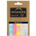 Carta Decopatch Pocket 30x40 cm - collezione n°19 x5