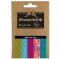 Carta Decopatch Pocket 30x40 cm - collezione n°06 x5