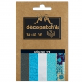 Carta Decopatch Pocket 30x40 cm - collezione n°08 x5