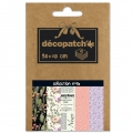 Carta Decopatch Pocket 30x40 cm - collezione n°16 x5