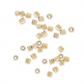 Schiaccini mm. 1x1.1 Gold filled 14k x50