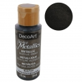Pittura acrilica decorativa DecoArt Dazzling Metallics - Black Pearl x59 ml