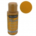 Pittura acrilica decorativa DecoArt Dazzling Metallics - Glorious Gold x59 ml