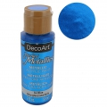 Pittura acrilica decorativa DecoArt Dazzling Metallics - Ice Blue x59 ml