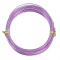 Filo di Alluminio mm. 1 Light Purple x m. 12