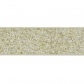 Nastro fantasia similcuoio 10 mm Gold Glitter x1.2m