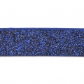 Nastro fantasia similcuoio 10 mm Dark Blue Glitter x1.2m