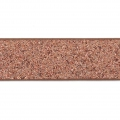 Nastro fantasia similcuoio 10 mm Copper Brown Glitter x1.2m