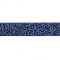 Nastro fantasia similcuoio 5 mm Dark Blue Glitter x1.2m
