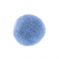 Pompon rotondo sintetico 2 cm Light Blue x1