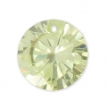 Pendente in zirconia 10 mm Peridot x1
