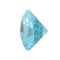 Pendente in zirconia 6 mm Aqua x1
