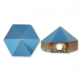 Hexagon Spike Bead Swarovski 5060 5.5 mm Crystal Metallic Blue x1