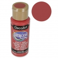 Pittura acrilica Alta Qualità - DecoArt Americana  - Country Red x59 ml