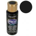 Pittura acrilica Alta Qualità - DecoArt Americana  - Ebony Black x59 ml