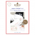 Kit DMC -Ricamo punto croce - Magic Paper - Amore