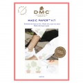 Kit DMC -Ricamo punto croce - Magic Paper - Cactus