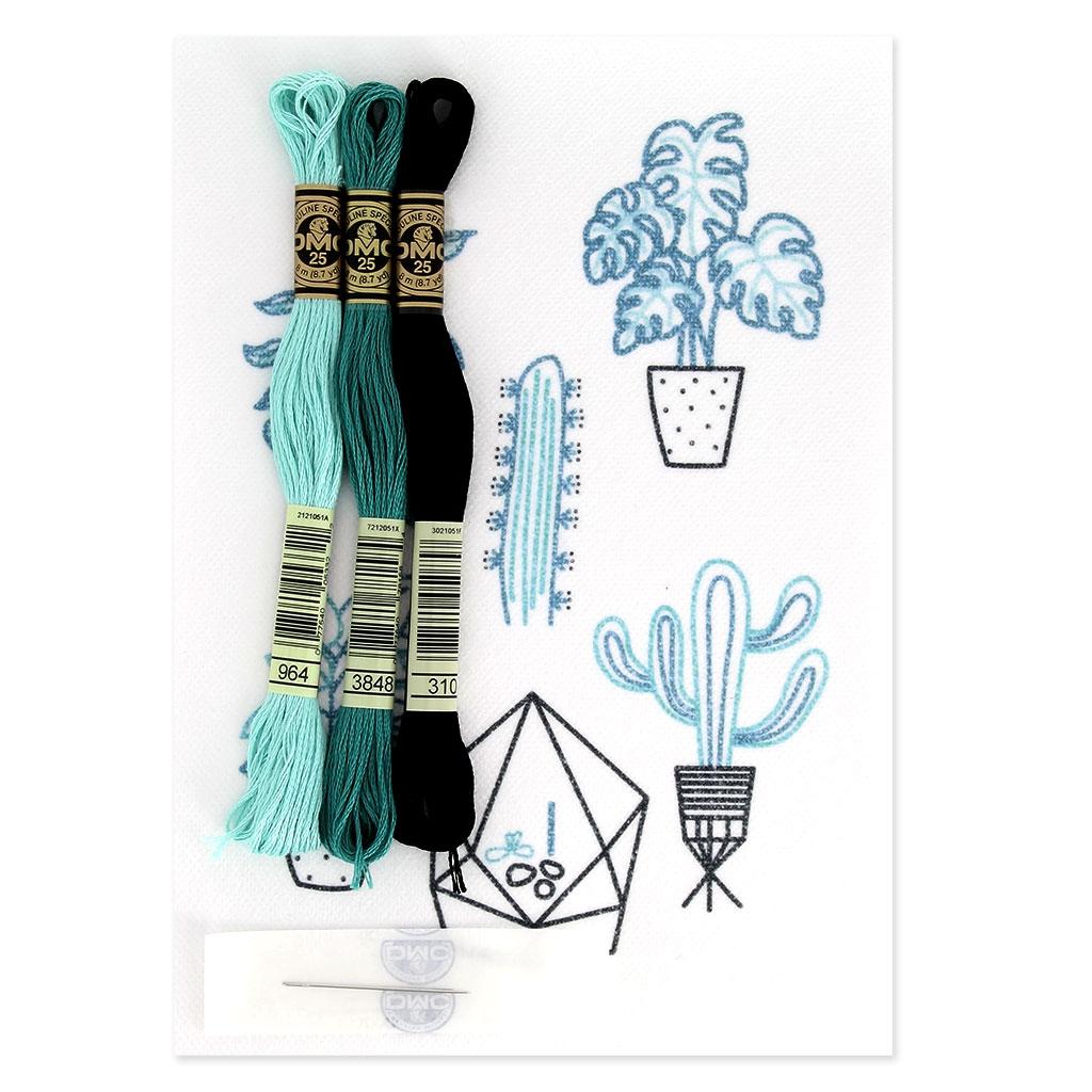 Kit DMC - Broderie point de croix - Magic Paper - Cactus ...