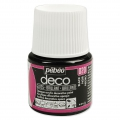Pittura acrilica- Deco Brillant di Pébéo - Nero n°20 x 45ml