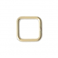 Base di montaggio quadrata mm. 8 Gold filled 14K x1
