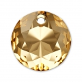 Pendente Swarovski 6430  mm. 14 Crystal Golden Shadow x1