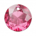 Pendente Swarovski 6430  mm. 14 Rose x1