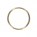 Anello chiuso 20 mm Gold filled 14 carati x1