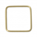 Base di montaggio quadrata 16 mm Gold filled 14K x1