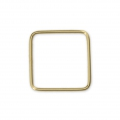 Base di montaggio quadrata 10mm Gold filled 14K x1