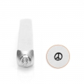Punzone  ImpressArt - 3 mm - Peace & Love x1