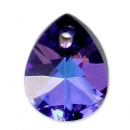 Mini Pera Swarovski 6128 12 mm Crystal Heliotrope x1