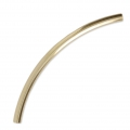 Tubo curvo 35x2 mm di Gold filled 14 carati x1