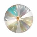 Cabochon Swarovski 1122 Rivoli mm. 14 Crystal Light Grey DeLite x1