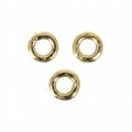Anellini chiusi 2x0.5 mm in Gold filled 14K x10