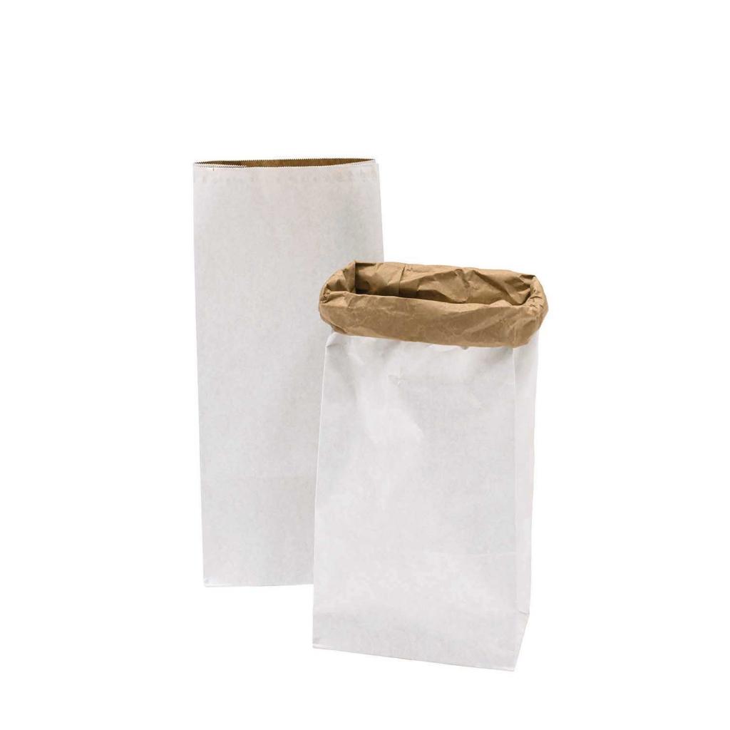 sachet en papier fond plat 510x230x135 mm blanc x2 paper p perles co. Black Bedroom Furniture Sets. Home Design Ideas