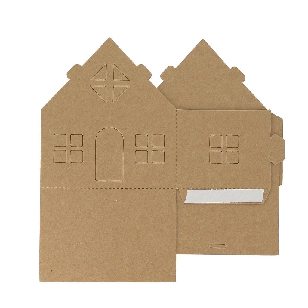 maison composer et d corer en carton mod le 1 perles co. Black Bedroom Furniture Sets. Home Design Ideas