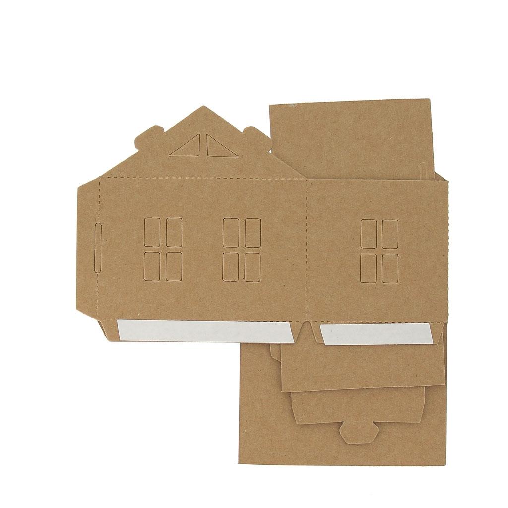 maison composer et d corer en carton mod le 2 perles co. Black Bedroom Furniture Sets. Home Design Ideas